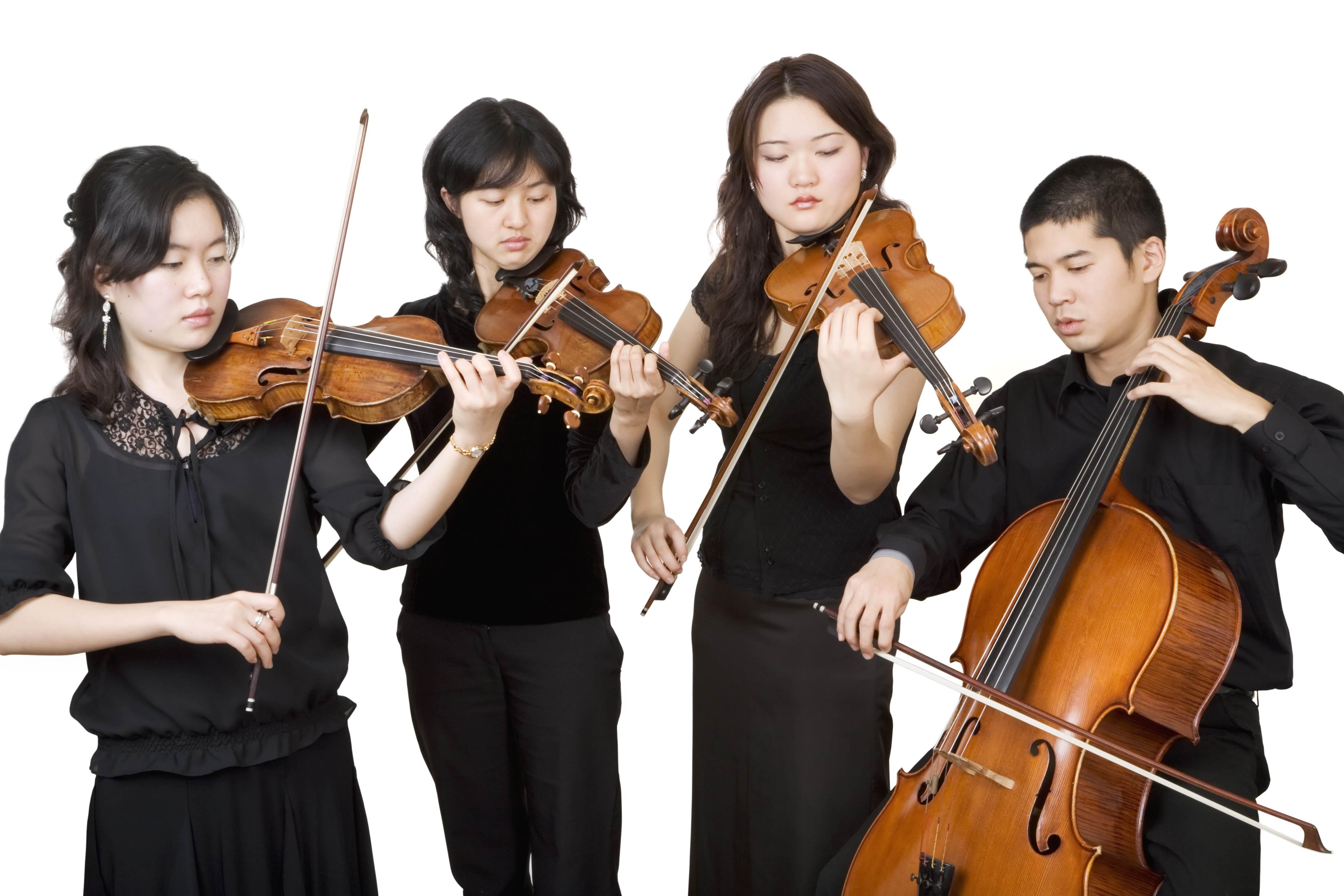groupe de violonistes