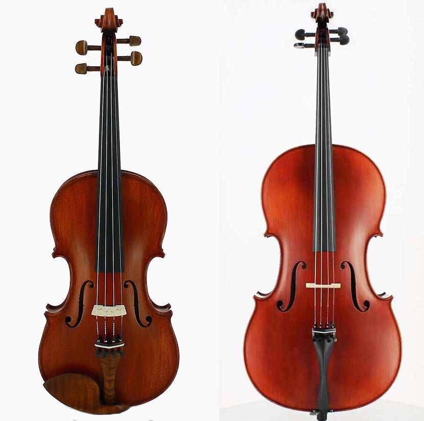 violon et violoncelle