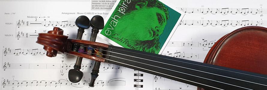 achat cordes de violon