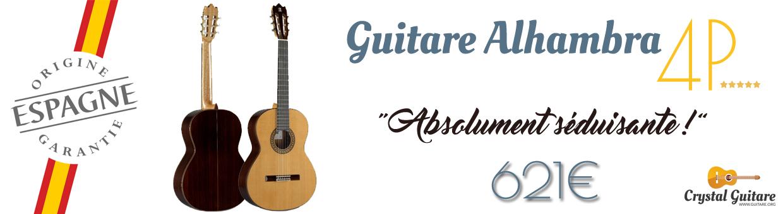Guitare classique Alhambra 4P
