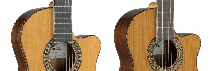 Guitares Alhambra cutaway