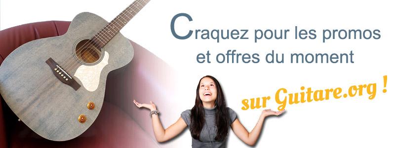 Codes promos et réductions Guitare.org