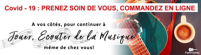 Guitare.org vous accompagne pour continuer à jouer de la musique