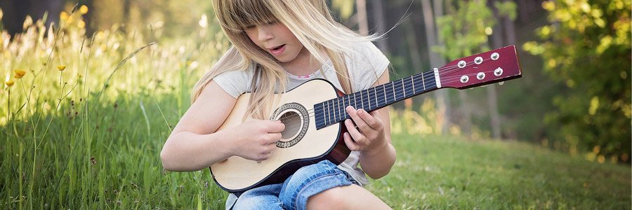 choix d'une guitare enfant