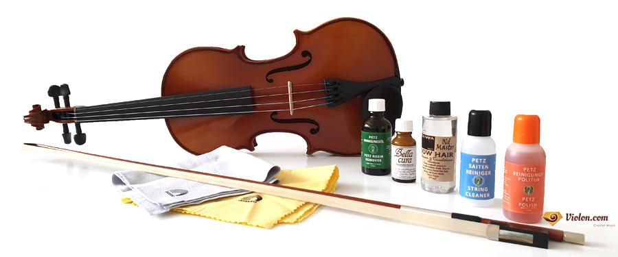 Produits d'entretien violon