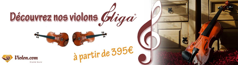 découvrez nos violons Gliga