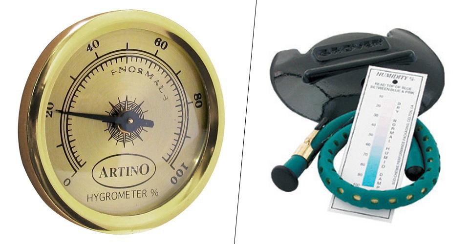 hygrometre et humidificateur
