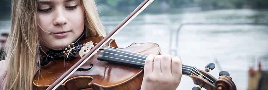 jeune violoniste