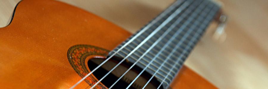 manche guitare classique