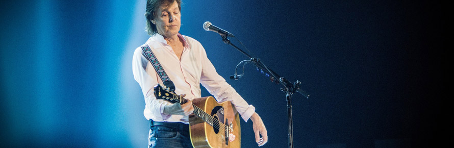 Guitare gaucher comme Paul McCartney