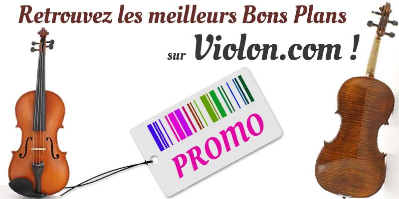 Promotion sur violon.com