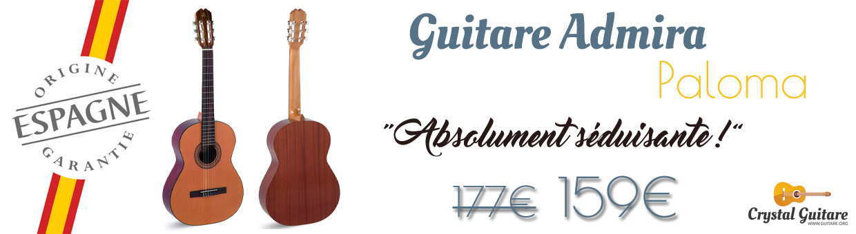 guitare admira paloma