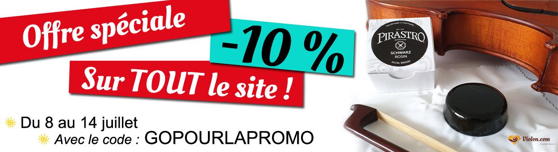 Offre spéciale : -10% sur tout le site jusqu'au 14 juillet