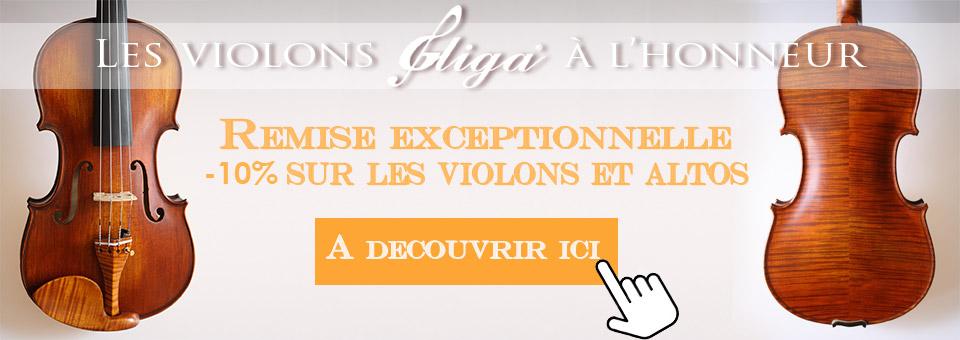 Promotion violon et alto Gliga