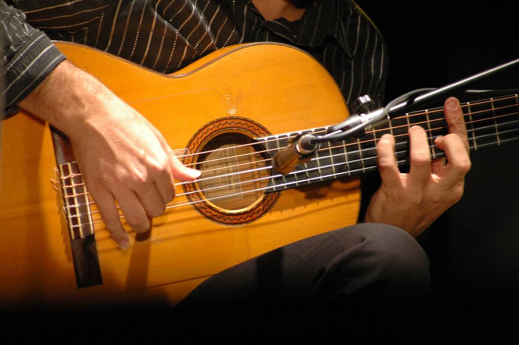guitare classique flamenca