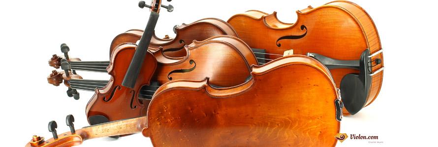 Choisir la taille du violon