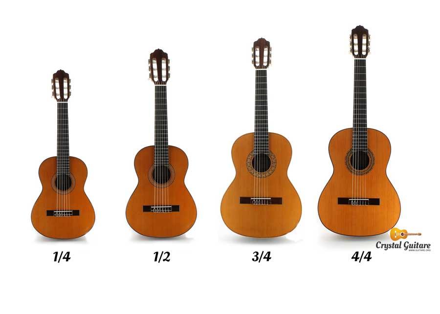 tailles guitare enfant