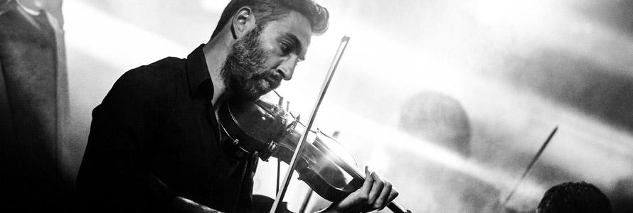 Techniques d'archet violon