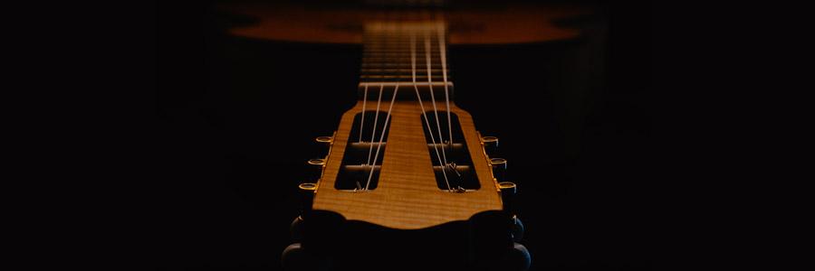 tête de guitare classique