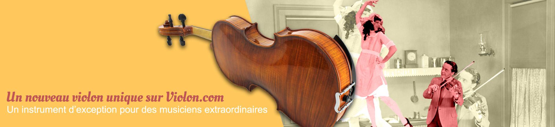 Nouveau violon d'exception sur Violon.com