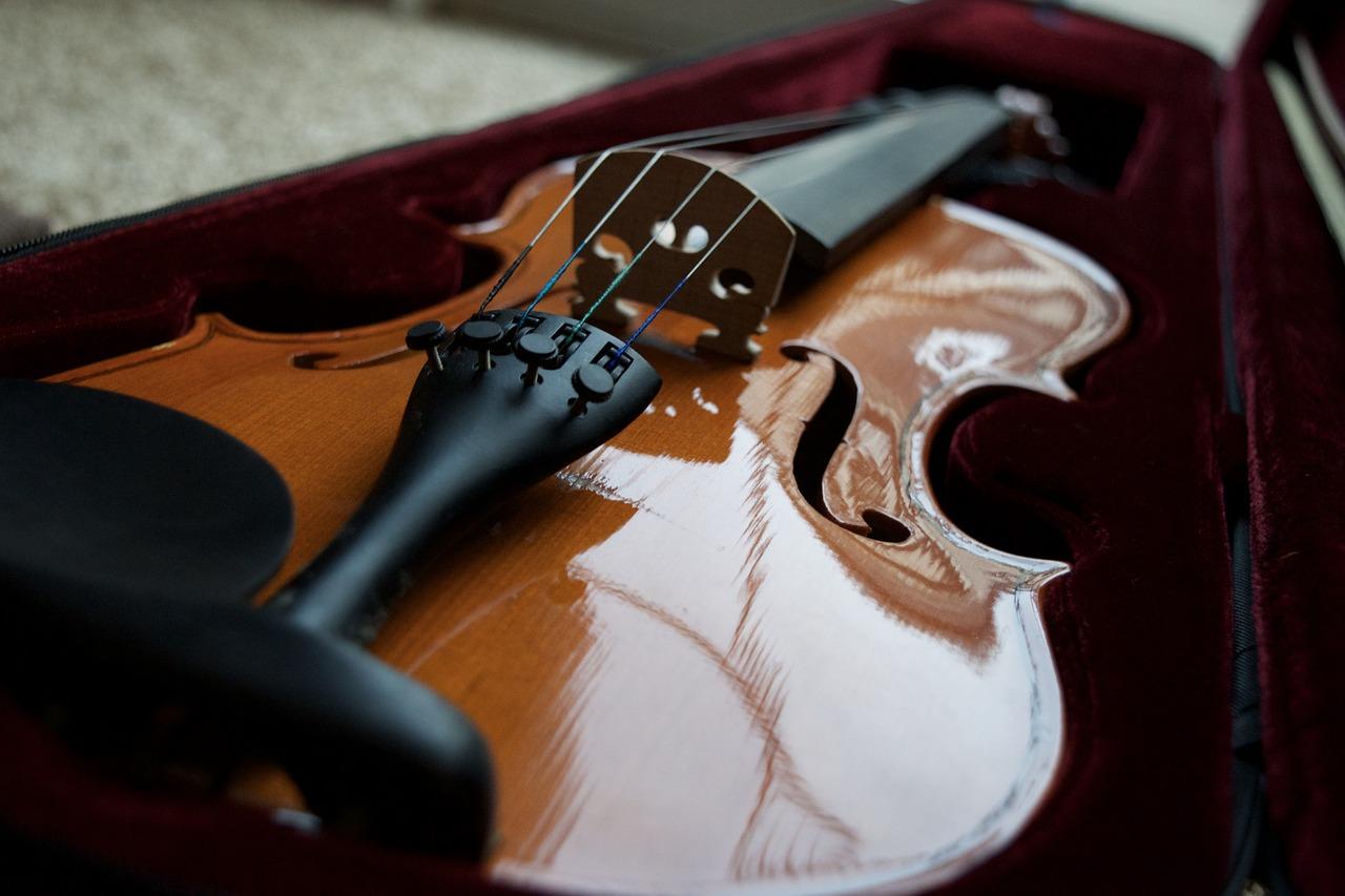 violon et étui